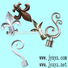 Shenzhen oem cast iron fence decorations metal fence