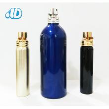 Bouteille en verre de parfum de jet de couleur de cylindre d'Ad-P410