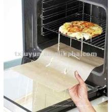 Tapis chauffant réutilisable pour four à grille pain