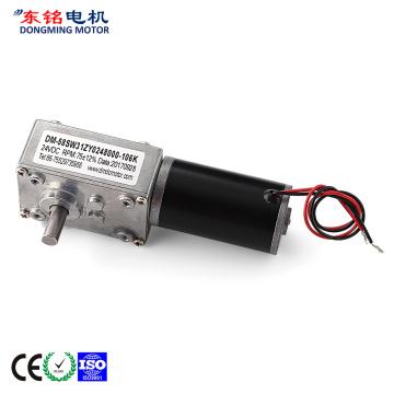 3v dc worm gear motor
