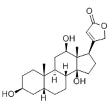 Card-20(22)-enolide,3,12,14-trihydroxy-,( 57276292,3b,5b,12b) CAS 1672-46-4