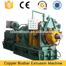 Máquina expulsando da máquina contínua de cobre da barra da extrusão para a fabricação do barramento