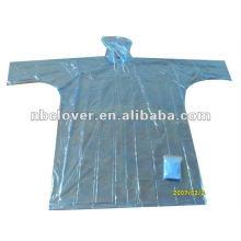 Costume impresso chuva ponchos / poncho descartável / descartável Raincoats