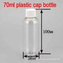 70ml Empty Plastic Screw Cap Skin Shampoo/Toner/Body Lotion Bottle