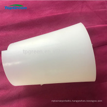 heat resistant red white transparent silicon sheet for transformer