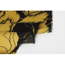 Tecido de viscose de viscose rayon com impressão digital personalizada