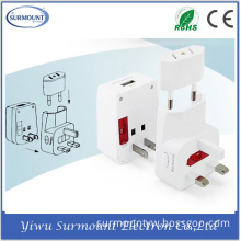 Universal Multi-Functional Power Adapter Travel Converter