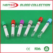 Tubes d'analyse sanguine jetables jetables de HENSO