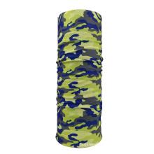 Custom Logo Print Head Scarf Hair Accessories Head Wrap Seamless Bandana Headwear