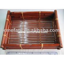 Бамбуковая продукция натуральная одноразовая бамбуковая плита