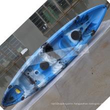 Family Fishing Sit on Top Kayak Plastic Polyethylene Ocean Boat (M06)