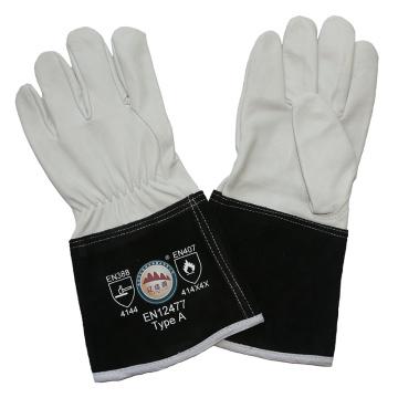 Kevlar Stitching WIG MIG Leder Schweißen Handschuhe