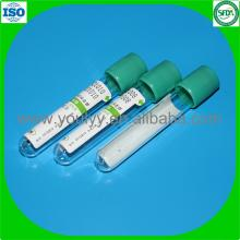 Green Cap Blut Test Tube