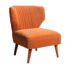 Modern Leisure Single Sofa Restaurant Hotel Wooden Chairs