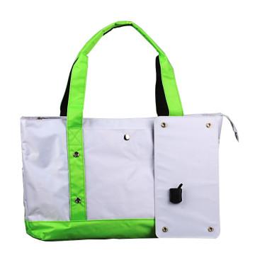 2017 High quality 5W portable single shoulder solar cooler bag for laptop