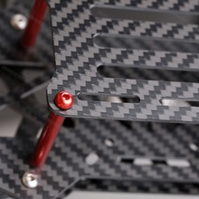 0.5X250X450mm carbon fiber sheet price for UAV