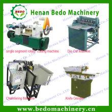 China vara de sorvete de madeira que faz máquinas / ice-stick vara que faz a linha de produção / depressor de língua de madeira que faz máquinas