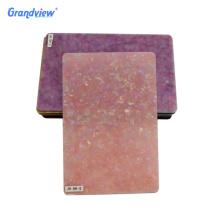 Best selling light pink plexiglass white marble sheets