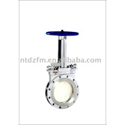 Manual knife gate valve.gate valve