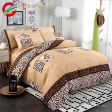 bon marché prix 100% coton imprimé couvre-draps ensemble pour la maison