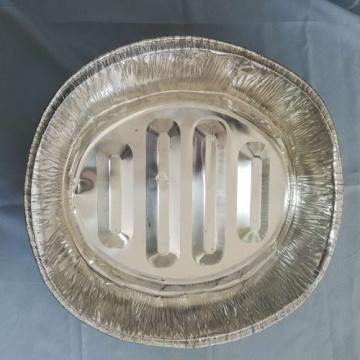 Recipiente de alimento redondo da folha de alumínio das vendas quentes