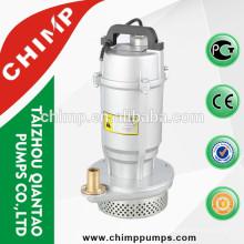 Bombas submergíveis de alumínio do fio de cobre de QDX1.5-32-0.75 0.75kw com interruptor de flutuador