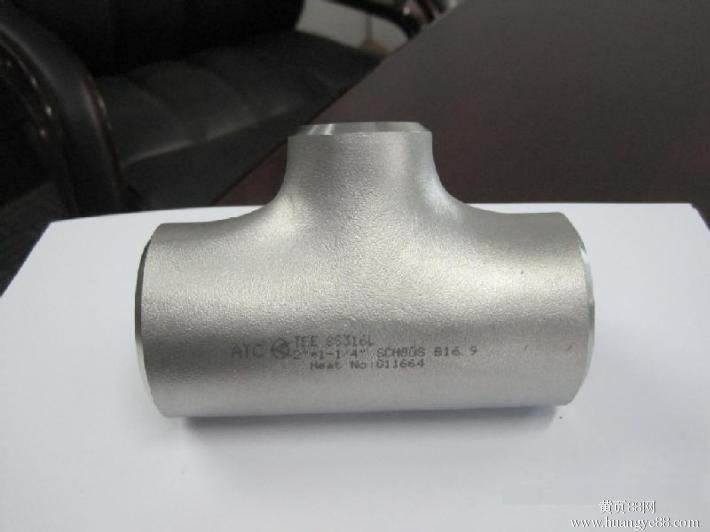 150 LBS Stainless Steel Casting Sch40 paip Tee
