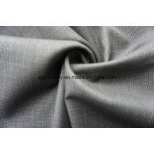 Tissu de laine gris foncé pour costume