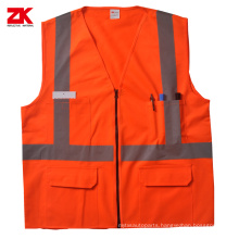 High quality road reflective safety vest
