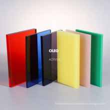 OLEG Professional Customized 2mm 3mm 5mm More Color Acrylic Sheet