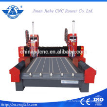 JK-1325S duplo monumentos 3D máquina de gravura de pedra/máquina de gravura