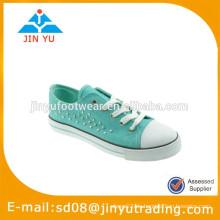 2015 Mädchen Segeltuch Schuhe Hersteller