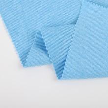 30s polyester cotton elastane 2x2 rib knit fabric