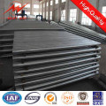 11m 15m Hot DIP Galvanized Steel Pole