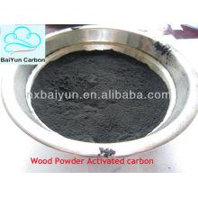 Poudre de bois de qualité pharmaceutique de charbon actif