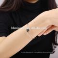 2017 fabricant argent carré LOVE bracelet avec coeur