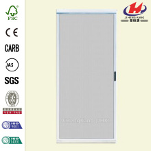 Ultimate White Metal Sliding Patio Screen Door