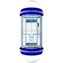 Décoration de porte d'ascenseur pour ascenseur panoramique