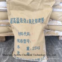 Alumina de malha com baixo teor de sódio com 6500 malhas