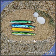 MJL004 chine en gros alibaba pêche leurre composant moule vertical jigging leurre