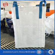 Bolsa de 1500 kg FIBC con pico de carga y descarga, bolsa a granel para América