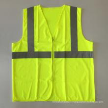 ANSI / ISEA 107 veste de sécurité réfléchissante à fermeture éclair à bas prix avec EN 20471 Ruban réfléchissant 3 m