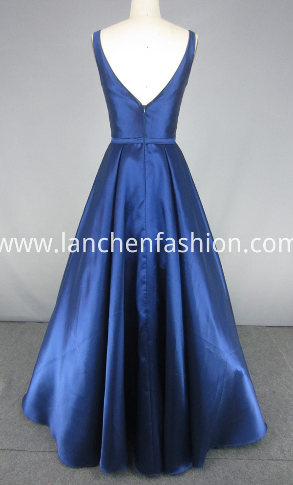 ball gown navy