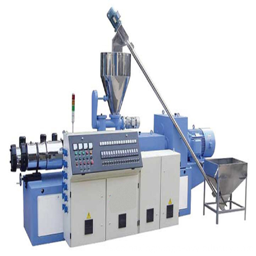 Tube extrusion line