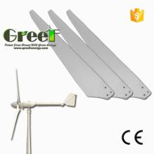 Lâminas de turbina de vento de eixo Horizontal de FRP para uso de gerador de vento