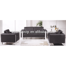 Sofá de color puro establece para la oficina utilizada, diseño de muebles de sofá de oficina y vender (ks3109)