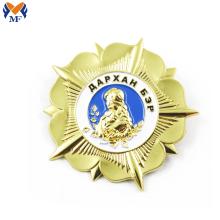 Emblema da empresa de pinos de etiqueta personalizada de metal
