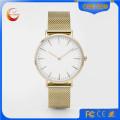 Мода женские наручные кварцевые наручные часы из нержавеющей стали (DC-234)