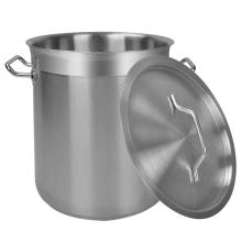 Bottom Stock Pot aus Edelstahl