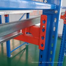 Lager Stahlregalantrieb im Palettenregalsystem Hochleistungs-Industriestallager